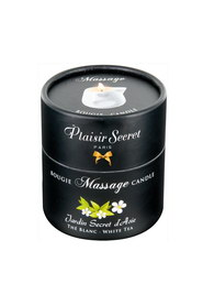 Bougie de massage thé blanc plaisir secret