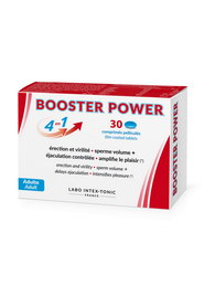Aphrodisiaque booster power 30 labo intex-tonic